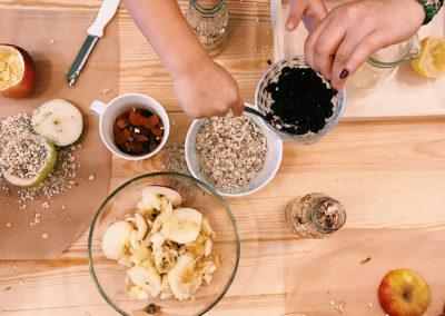 Warsztaty kulinarne dla dzieci - słodycze bez cukru | Klub dziecięcy Montinimini